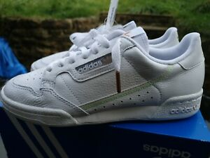 Adidas continental White Size 5.5 New