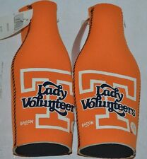 Tennessee Lady Vols Volunteers LOT of 2 Long Neck Bottle Koozie Coolers