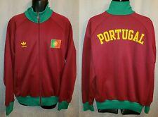 Portugal National Team Burgundy Adidas World Cup Track Jacket - Mens XL