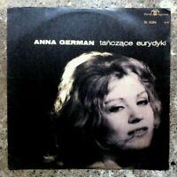 Anna German. Tanczace Eurydyki Vinyl LP Album 1966.