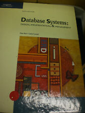Database Systems: Design, Implementation, and Management by Peter Rob (2004,...