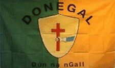 County Donegal Ireland Flag 3x5 ft Irish Co Cross Shield Gaelic Football Games
