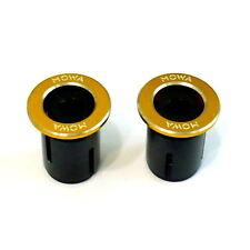 gobike88 MOWA Bar End Caps/Plugs, 25g, Gold, A71