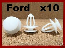 10 FORD push type retainer bumper fender clip fastener front rear