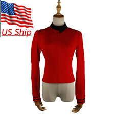 Star Trek Discovery Season 2 Starfleet Commander Nhan Red Uniform Pin Costumes