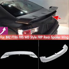 For Toyota FT86 FRS Fit Subaru BRZ WD Style FRP Rear Trunk Spoiler Wing Lip Kit