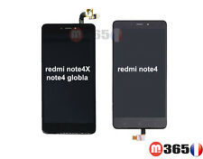 ECRAN VITRE TACTILE LCD COMPLET pour Xiaomi Redmi Note 4 ou note4X