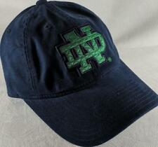 LZ Adidas Adult One Size OSFA Notre Dame Fighting Irish Baseball Hat Cap NEW D49