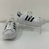 Adidas Superstar Bold Men's Size 7.5 Casual Athletic Black White Sneakers BA7666