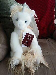 "Charlie Bears ""Oona"" AM Sweet Plush Unicorn with tags"