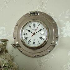 Orologi da parete analogico argento in metallo