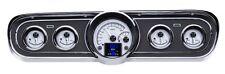 Dakota Digital 65 66 Ford Mustang Customizable Gauges Kit Silver HDX-65F-MUS-S