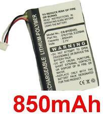 Batterie 850mAh type 616-0159, E225846 Pour Apple iPod M9244LL/A M9245LL/A