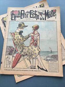 Le Petit Echo de la Mode 1929 Weekly 16 page French Fashion Magazine