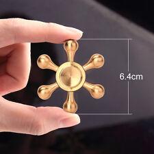 Cheap Hand Spinner Fidget Spinner Fingertip Torqbar Brass EDC Desk Finger Toys
