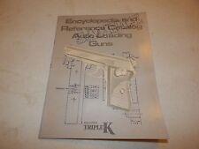 Encyclopedia And Reference Catalog Auto Loading Guns Sample Krasne'S 1988