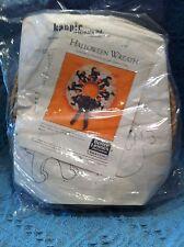 "NOS 1987 BETTER HOMES AND GARDENS CRAFT KIT ""HALLOWEEN WREATH"" #6612"