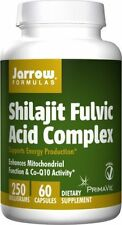 Shilajit Fulvic Acid Complex Jarrow Formulas - 60 Vegetarian Caps - 2 Bottles