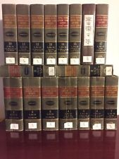 Lot Of 17 UNITES STATES SUPREME COURT REPORTS LAWYERS EDITION Annotated Vol.1-17
