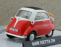 BMW Isetta 250 - red / white - Cararama 1:43