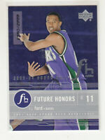 T.J. FORD 2003-04 Upper Deck Honor Roll Future Honors #92 Rookie RC 1555/2999