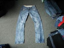"Crosshatch Twisted Jeans Waist 30"" Leg 32"" Faded Dark Blue Mens Jeans"