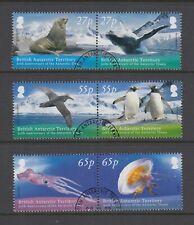 More details for british antarctic territory: 2009 treaty anniversary set sg500-505 used dc078