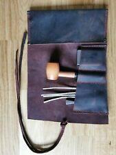 Pipe / Tobacco Smoking Pocket Roll Soft Real Leather