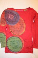 Z2763 Desigual 36J2108 Pullover S  Mehrfarbig Mit Motiv Gut