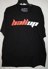 Ball Up Logo T-Shirt...  Black/Orange/Royal.. Size 2XL... New