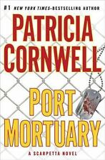"Patricia Cornwell ""Port Mortuary"" (hardcover) A Scarpetta Novel"