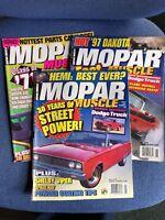 Mopar Muscle Magazine 3 Issues Job Lot 1996 - See Description