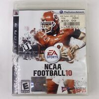 NCAA Football 10 (Sony PlayStation 3, 2009) PS3 Complete