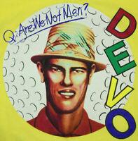 Devo Vintage Are We Not Men Bootleg T-Shirt Sz L 90s Kurt Cobain Grunge NWOT