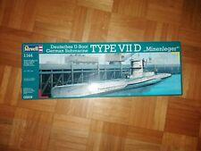 Revell 05009 1:144 Deutsches U-Boot Type VII D Minenleger German Submarine OVP
