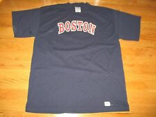 Vtg ROGER CLEMENS No 21 BOSTON RED SOX (XL) Shirt Jersey NEW YORK YANKEES SUCK