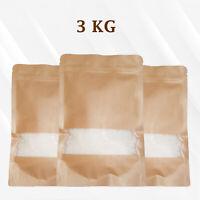 3Kg Soy wax / Soya Wax Flakes 100% Pure, Clean Burning, No Soot, Natural Soy Wax