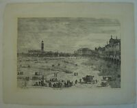 PRA DELLA VALLE - VENEZIA - VENICE - VENEDIG - CANALETTO - CANAL - UM 1900