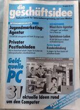 Die Geschäftsidee-Fachzeitschrift für Unternehmensgründung und neue Märkte 3/96
