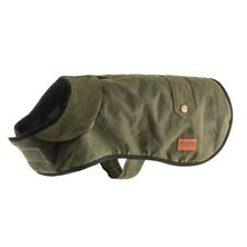 More details for heritage green wax  dog coat