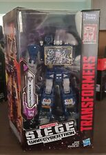 Transformers War for Cybertron Siege SOUNDWAVE Voyager - BRAND NEW!!!