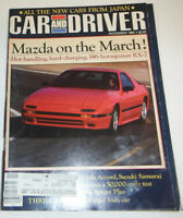 Car And Driver Magazine Mazda On The March November 1985 080814R