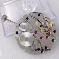 Vintage 17 Jewels movement fit men's watch swan neck 6497 Hand-Winding movement