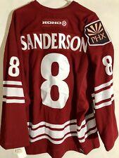 Reebok Authentic NHL Jersey Phoenix Coyotes Geoff Sanderson Burgundy sz 48