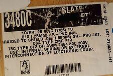 Alpha Wire 3480C 28/10P Twist Pair Multi Shield Communication/Control Cable/50ft
