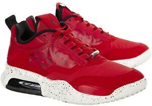 Nike Jordan Air Max 200 Men's Shoe Size 11 Fire Red/Black-Sail White Running RN