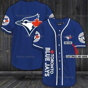 Toronto Blue Jays Personalized Baseball Shirt, Toronto Blue Jays Customized