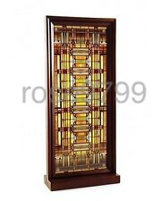 Frank Lloyd Wright Oak Park Skylight Stained Glass Wood Framed