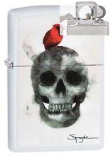 Zippo 29644 Spazuk Skull & Cardinal Lighter with PIPE INSERT PL