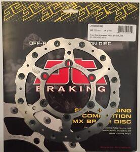 JT Brakes Self Cleaning FRONT Wavy Brake Disc Fits KAWASAKI KX80 (1998 to 2000)